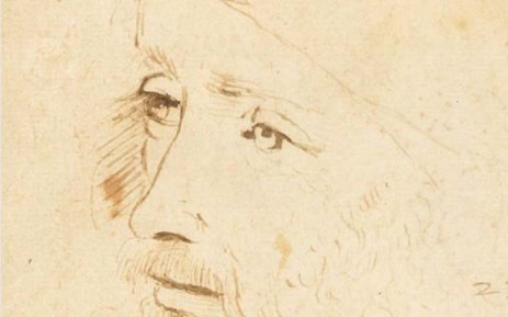 The sketch by Leonardo da Vinci set to be displayed in an exhibition at Buckingham Palace marking 500 years since his death. Picture: Twitter/@rct