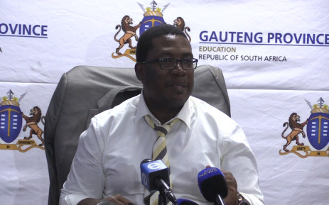 Gauteng Education MEC Panyaza Lesufi says the online registration system represents the future, despite numerous technical glitches.Picture: Kgothatso Mogale/EWN