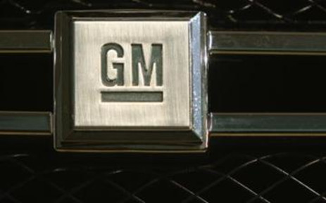 The logo of US carmaker General Motors. Picture: Getty Images