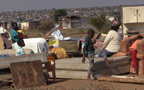 Hammanskraal residents have vowed to rebuild their shacks following forced removals in the township. Picture: Vumani Mkhize/EWN.