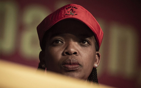 FILE: Newly-elected Congress of South African Trade Unions president Zingiswa Losi. Picture: Sethembiso Zulu/EWN.