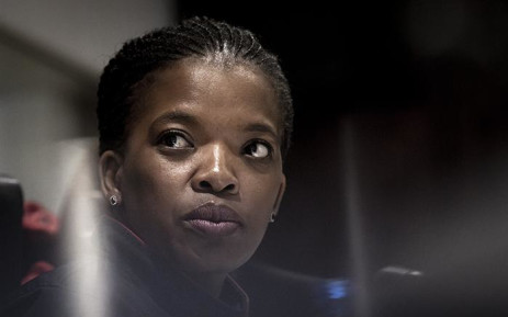 Congress of South African Trade Unions president Zingiswa Losi during the media briefing at Cosatu House in Johannesburg on 29 November 2018 .Picture: Sethembiso Zulu/EWN