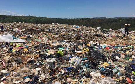 'Waste-pickers' at the New England Landfill Site in Pietermaritzburg. Picture: Nkosikhona Duma/Eyewitness News.