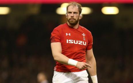 FILE: Wales Captain Alun Wyn Jones. Picture: Twitter/@WalesRugby.