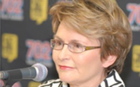 Western Cape Premier Helen Zille. Picture: AFP.