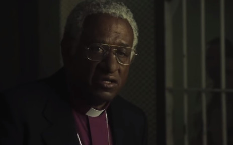 A screengrab of Forest Whitaker in  the movie 'The Forgiven,' where he portrays Archbishop Desmond Tutu. Picture: YouTube.