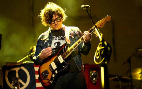 FILE: In this file photo taken on 16 March 2016, singer-songwriter Ryan Adams performs during SXSW in Austin, Texas. Picture: AFP.