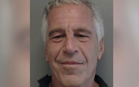 FILE: This handout photo obtained July 10, 2019, courtesy of the Florida Department of Law Enforcement shows Jeffrey Epstein from a sexual Offender/Predator Flyer in 15 July 2013. Epstein, 66, was charged on 8 July 2019 by the US Attorney for the Southern District of New York with one count of sex trafficking of minors and one count of conspiracy to commit sex trafficking of minors. Picture: AFP