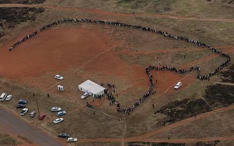 FILE: Voting queues on 22 April 2009. Picture: EWN