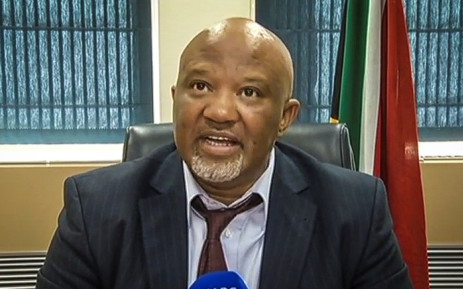 FILE: Deputy Finance Minister Mcebisi Jonas during press briefing on 16 March 2016. Picture: Screengrab