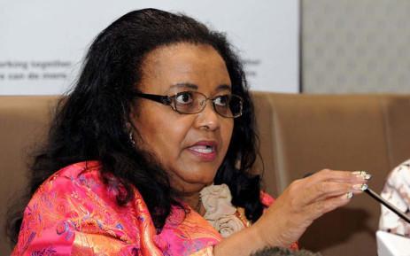 FILE: Environmental Affairs Minister Edna Molewa. Picture: GCIS