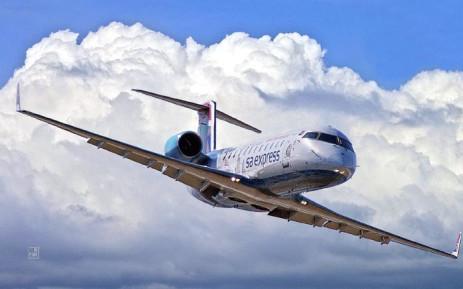 A general view of an SA Express plane. Picture: SA Express.