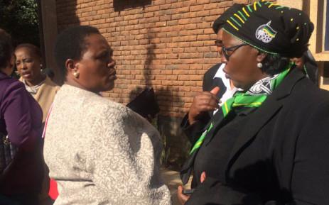 ANC Tshwane mayoral candidate Thoko Didiza visited the Pretoria City Missions Methodist Church on 17 July, 2016. Picture: Masa Kekana/EWN.