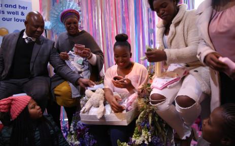 Mother Of Khayelitsha Quadruplets Gets Special Baby Shower