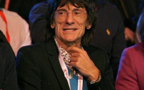 Musician Ronnie Wood. Picture: AFP.