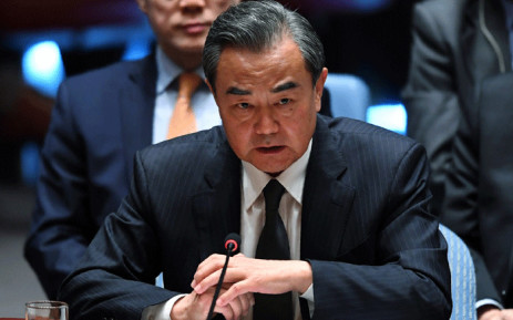 FILE: Chinese Foreign Minister Wang Yi attends a meeting of the UN Security Council on peacekeeping operations, during the 72nd session of the General Assembly in New York on 20 September 2017. Picture: AFP