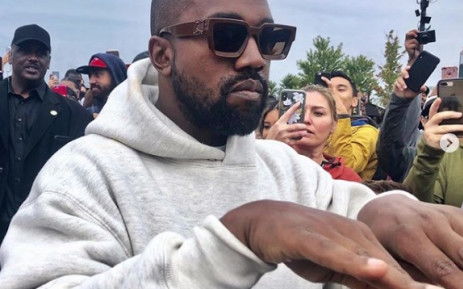 Kanye West pictured at his Sunday Service on 9 September 2019. Picture: kanyewestt_official/instagram.com