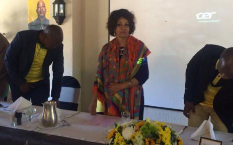 Human Settlements Minister Lindiwe Sisulu. Picture: Masa Kekana/EWN.