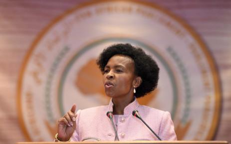 Rural Development and Land Reform Minister Maite Nkoana-Mashabane. Picture: GCIS.