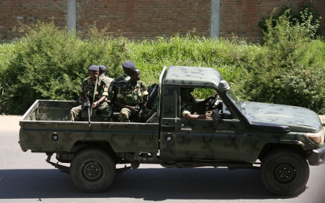 FILE: The group killed by security forces were part of a larger group that entered the country from Congo, an army officer told Reuters on condition of anonymity. Picture: AFP.