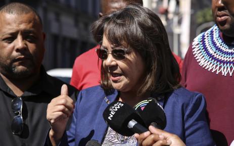 FILE: Good party leader Patricia de Lille. Picture: Cindy Archillies/EWN