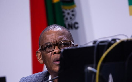 ANC secretary-general Ace Magashule at the post-NEC media briefing on 30 July 2019, at Luthuli House. Picture: Kayleen Morgan/EWN