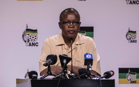 ANC acting spokesperson Dakota Legoete. Picture: Abigail Javier/EWN