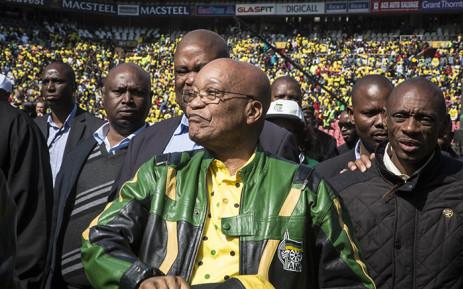 FILE: President Jacob Zuma at an ANC rally. Picture: Reinart Toerien/EWN