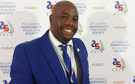 The DA's Stevens Mokgalapa. Picture: Facebook