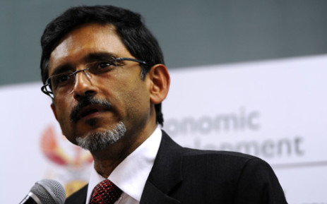 FILE: Economic Development Minister Ebrahim Patel delivers the keynote address at the SA Institute of Chartered Accountants conference at Kyalami Business Park in Johannesburg, Wednesday, 18 July 2012. Picture: Werner Beukes/SAPA
