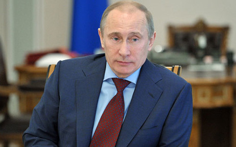 Russian president Vladimir Putin. Picture: AFP