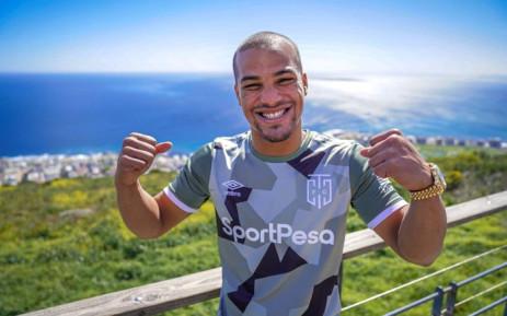 New Cape Town City FC recruit Fagrie Lakay. Picture: @CapeTownCityFC/Twitter