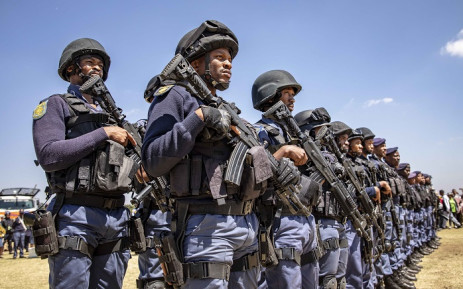Image result for SAPS guns with uniform