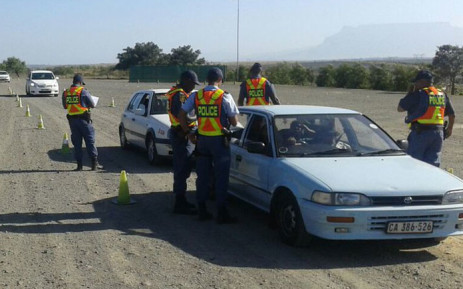 FILE: Western Cape police conducting operations during the 2017 festive season. Picture: SAPS.