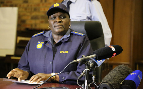 National Police Commissioner Riah Phiyega. Picture: Reinart Toerien/EWN.