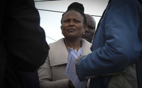 FILE: Advocate Busisiwe Mkhwebane visited Masiphumelele as part of the Public Protector Roadshow.  Picture: Cindy Archillies/EWN.