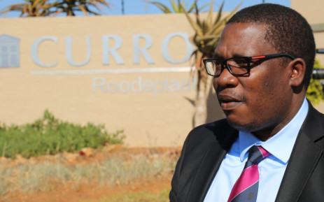 Gauteng Education MEC Panyaza Lesufi outside the Curro Roodeplaat school on 18 June 2015. Picture: Reinart Toerien/EWN