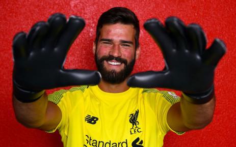 5058d4d41b1 Liverpool goalkeep Alisson Becker. Picture  Twitter  LFC