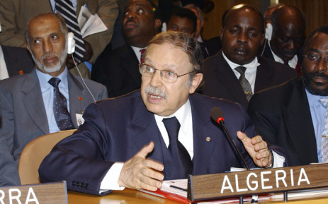 FILE: President of Algeria Abdelaziz Bouteflika. Picture: United Nations Photo.