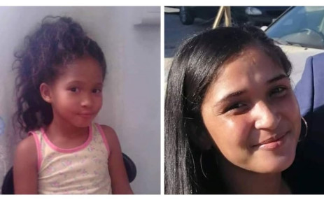 Altecia Kortjie and her daughter Raynecia were found dead at a house in Belhar, Western Cape, on Friday 12 June 2020 after they went missing. Picture: Supplied