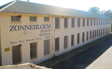 Zonnebloem Senior School is among the 27 schools facing closure in the Western Cape. Picture: Janine Willemans/EWN.