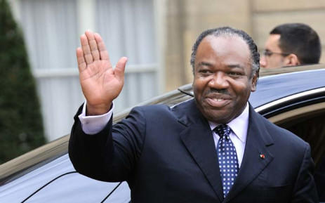 FILE: Gabonese President Ali Bongo Ondimba waves as he leaves the Elysee Palace in Paris on 21 February 2011. Picture: AFP