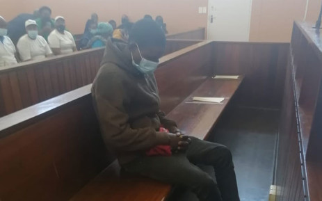 Nowa Makula, who is accused of killing his wife and 5 children, appeared in the Elliotdale Magistrates Court on 30 November 2020. Picture: Supplied