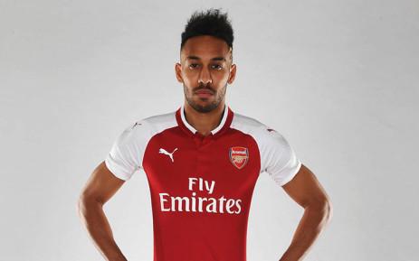 Pierre-Emerick Aubameyang. Picture: @Arsenal/Twitter.