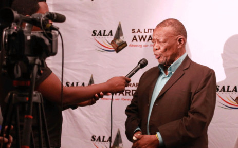A video screengrab of Mongane Wally Serote won the National Poet Laureate Prize at the South African Literary Awards on 06 November 2018. Picture: Supplied.
