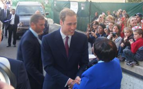 British royal Prince William. Picture: EWN