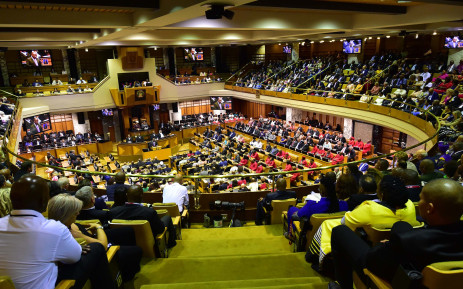 FILE: Inside the National Assembly during Sona 2018. Picture: GCIS.