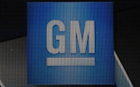 The General Motors logo is seen on a sign at their headquarters in the Renaissance Center on January 14, 2014 in Detroit as previews continue at the North American International Auto Show. AFP PHOTO/Stan HONDA STAN HONDA / AFP