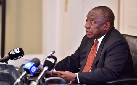 FILE: President Cyril Ramaphosa stressed the need to increase confidence levels and for the government to regain the trust of the markets and South Africans. Picture: @PresidencyZA/Twitter