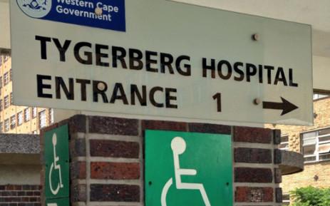 FILE: Tygerberg Hospital. Picture: EWN
